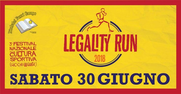 Festival Nazionale Cultura Sportiva 2018_LegalityRun