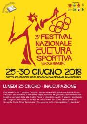 Festival Nazionale Cultura Sportiva 25.06 lunedi