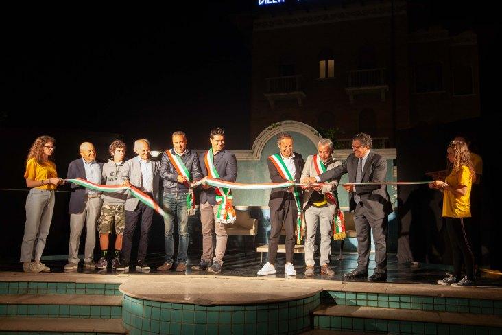 I sindaci di Cattolica, Gabicce, Gradara e San Giovanni tallivano il nastro del 3° Festival Nazionale della Cultura Sportiva
